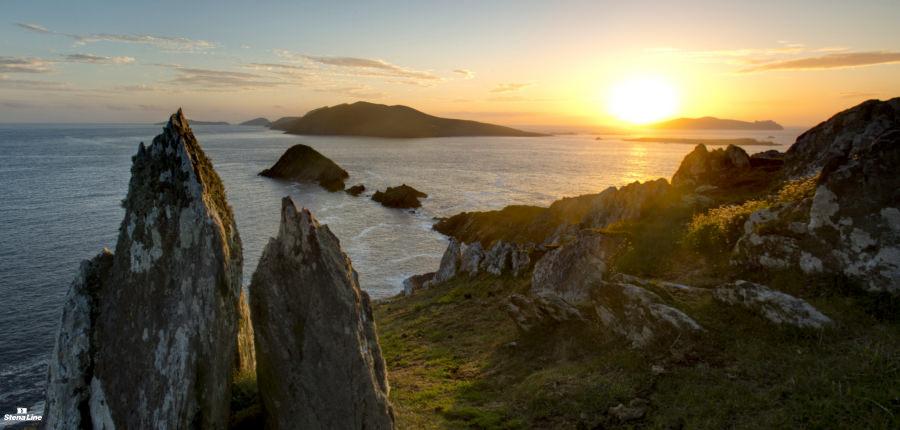 Blasket Islands in Ierland