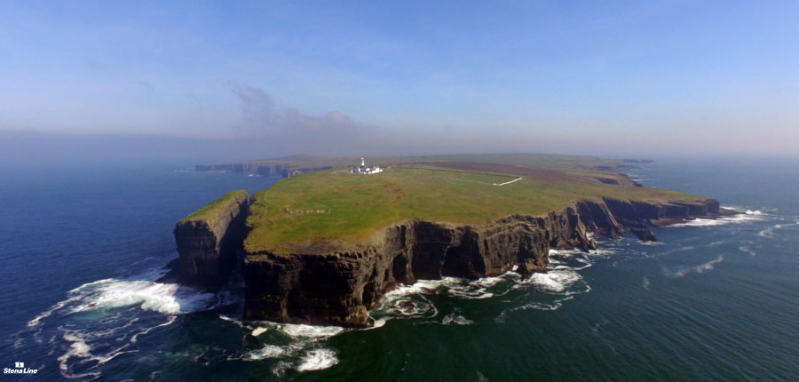 Loop Head langs de Wild Atlantic Way in Ierland