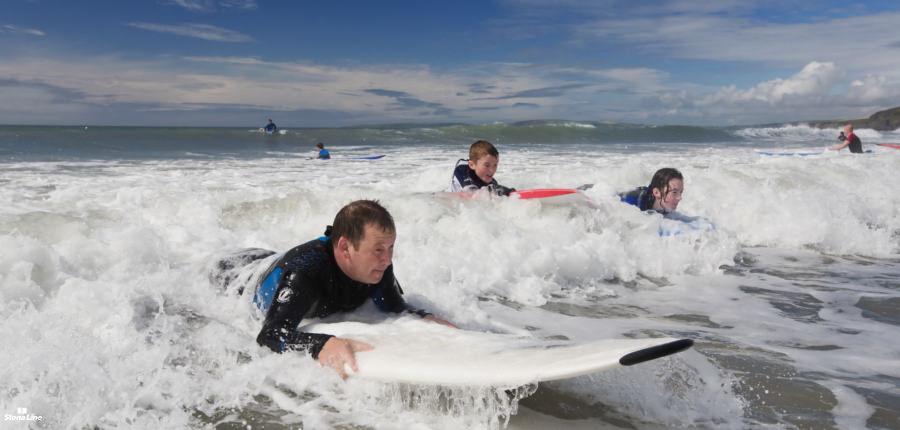 Surfkust in Ierland langs de Wild Atlantic Way