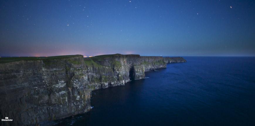 Cliffs of Moher langs de Wild Atlantic Way