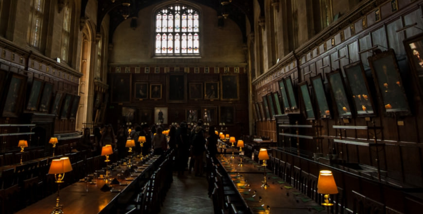 Grote Hall Harry Potter in Oxford