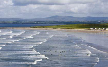 Rossnowlagh strand Ierland