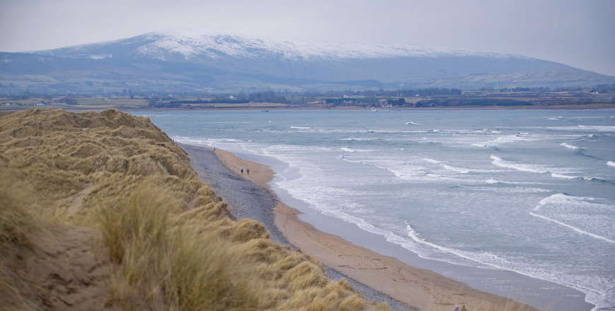 Strandhill strand Ierland