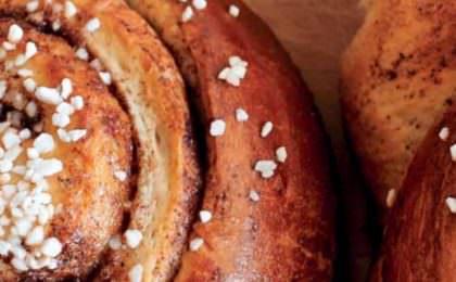 Cinnamon buns recept voor bij de Fika