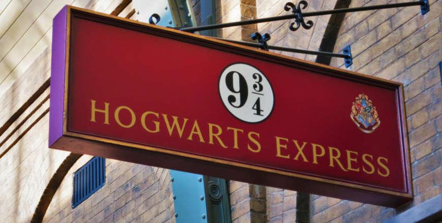 Kings Cross perron 9-34 Harry Potter