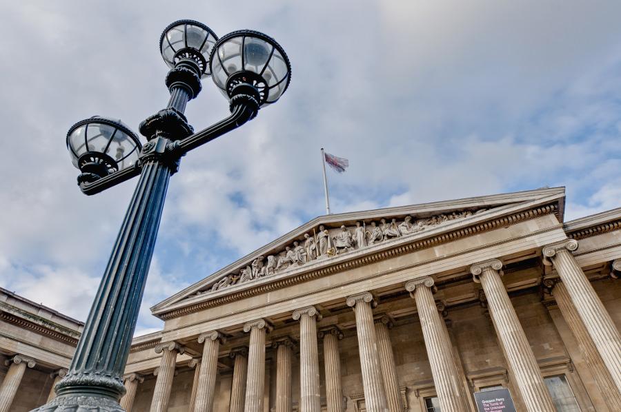 British Museum entree