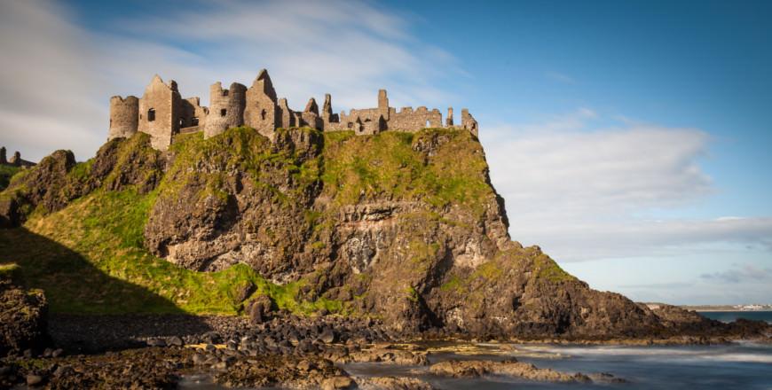 Dunluce Castle, één van de mooiste plekken in Noord-Ierland