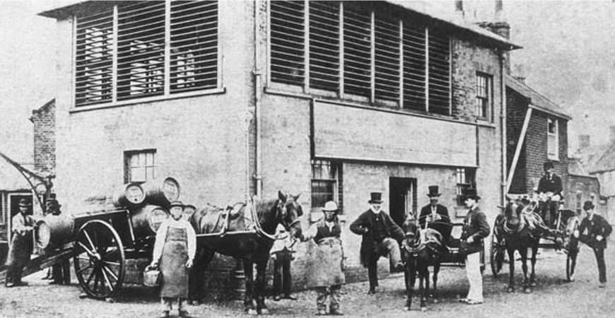 Adnams Brewery circa 1872