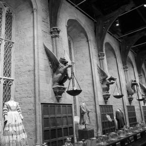 Harry Potter studio tour in Londen.