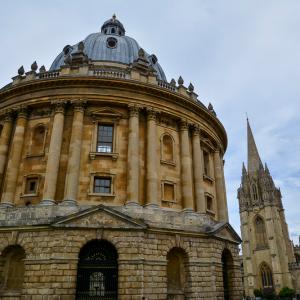 In het centrum van Oxford.