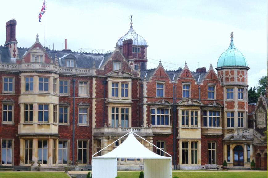 Sandringham House nabij Norfolk