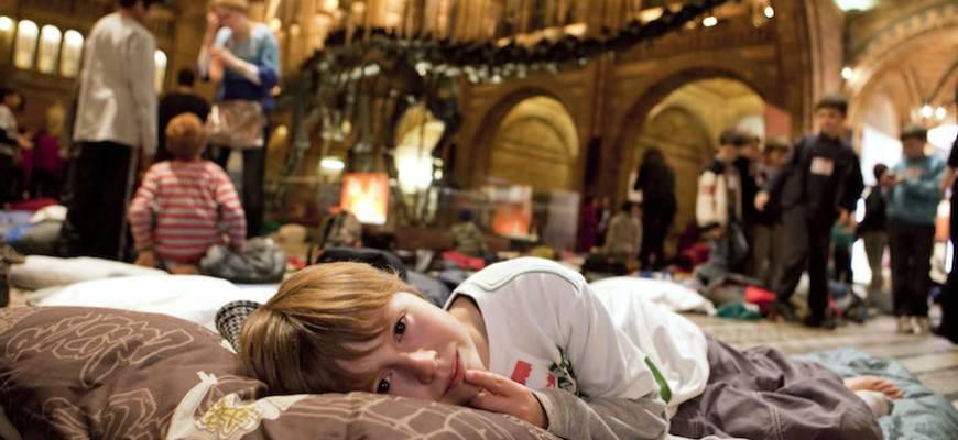 Nachtje slapen in het museum