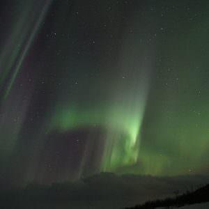 Noorderlicht in het Zweedse Lapland bij Aurora Sky Station in Abisko