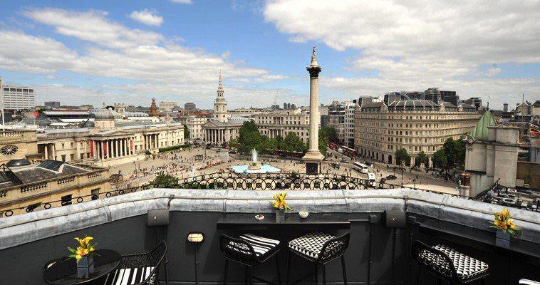 De beste rooftop bars van Londen