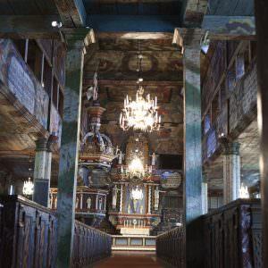 Kerk van Habo in Zweden