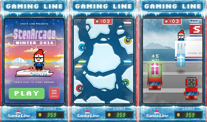 Gaming Line app collage