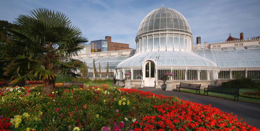 Botanic Gardens van Belfast in Ierland
