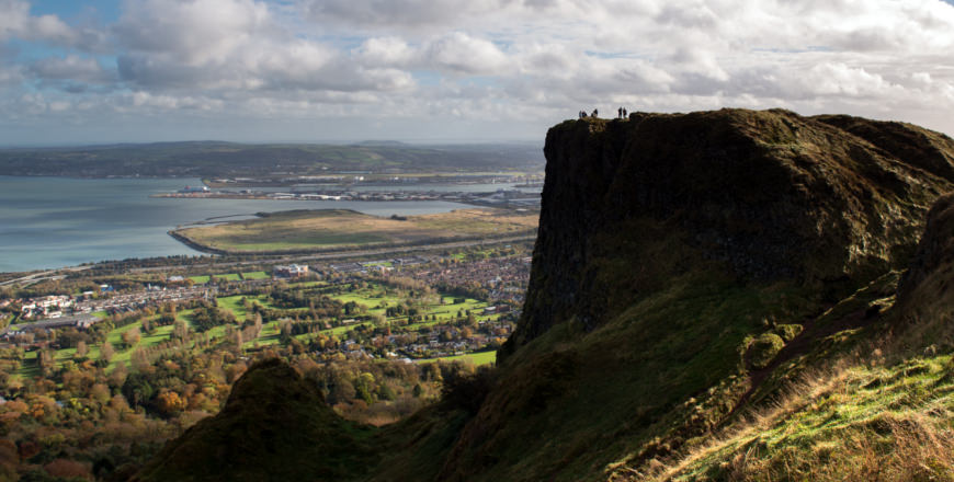 Cave Hill in Belfast, Ierland