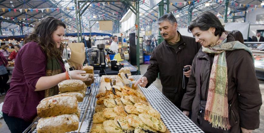 St George's Market in Belfast, Ierland
