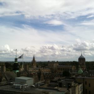 Uitzicht over Oxford