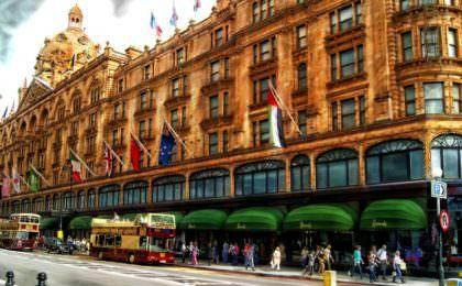 Warenhuis Harrods in Londen