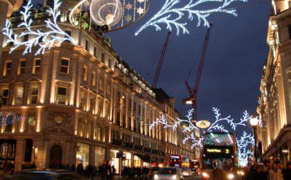 Londens kerstverlichting