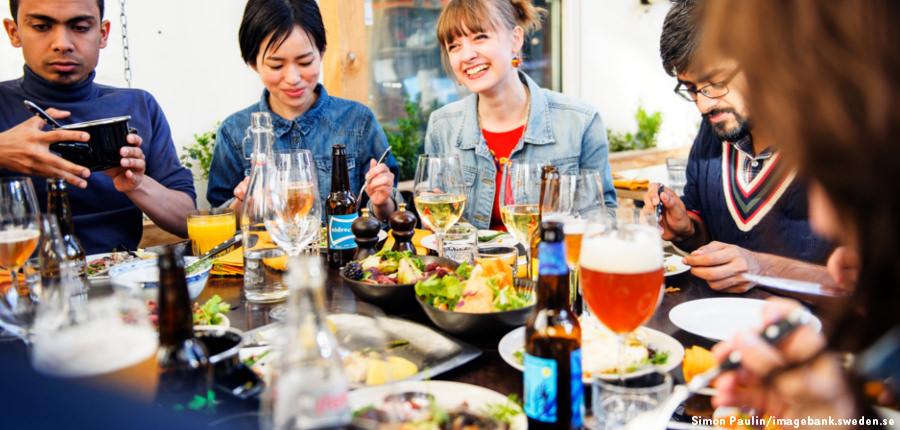 Lunch van de dag - Het goedkope Zweden