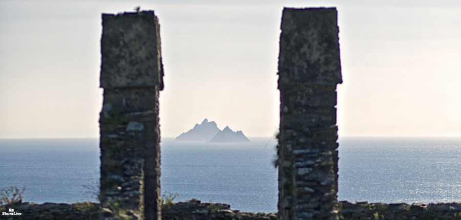 Skellig Islands in Ierland, bestaande uit Skellig Michael en Little Skellig