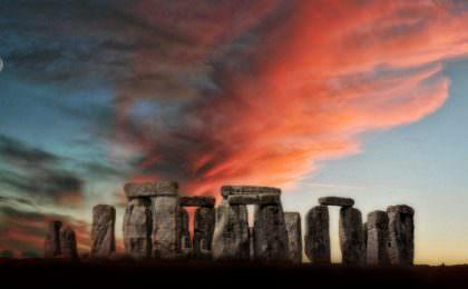 Stonehenge - UNESCO werelderfgoed in Engeland