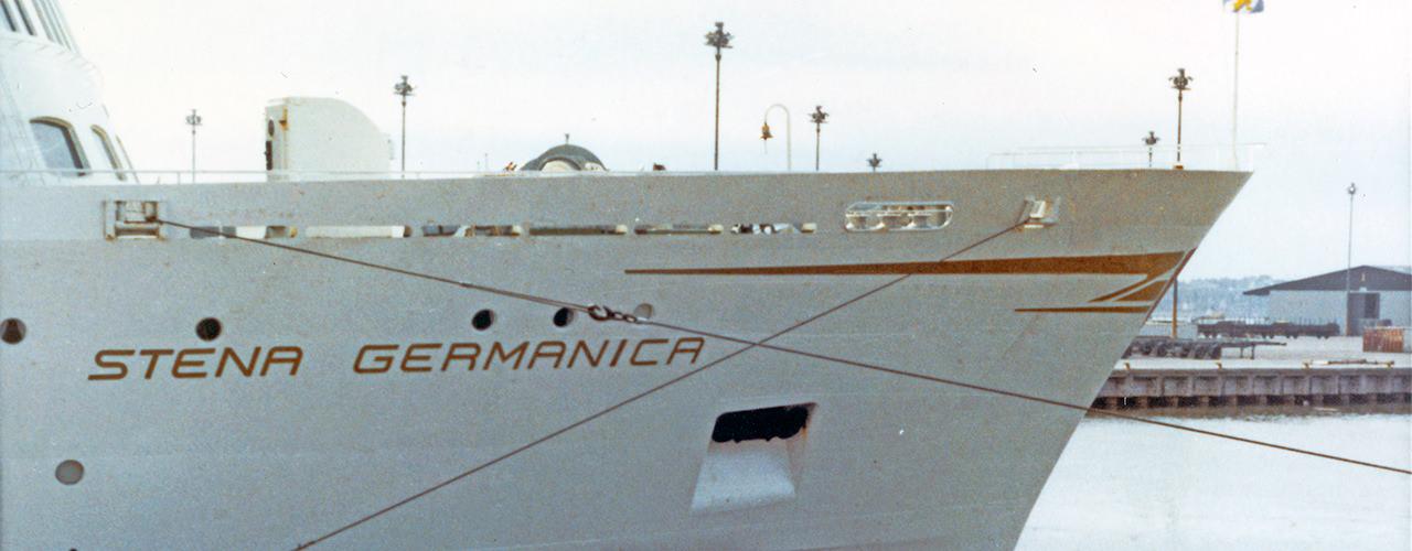 Stena Germanica in 1970 en 1971