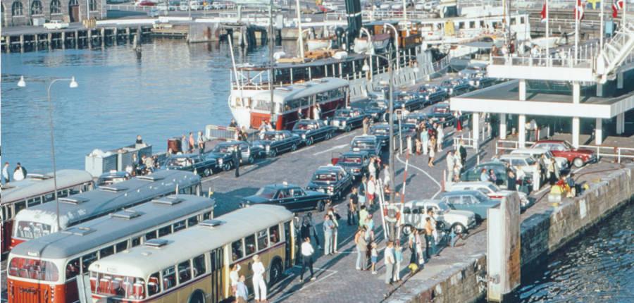 Stenpiren in zomer 1970. Foto: Tore Granath