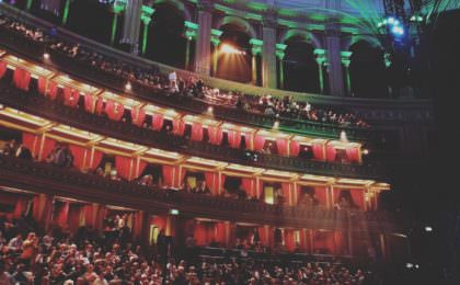 De Royal Albert Hall in Londen