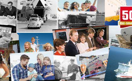 Kiel Göteborg route 50 jaar