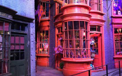 Wegisweg tovenaarswinkelstraat Harry Potter