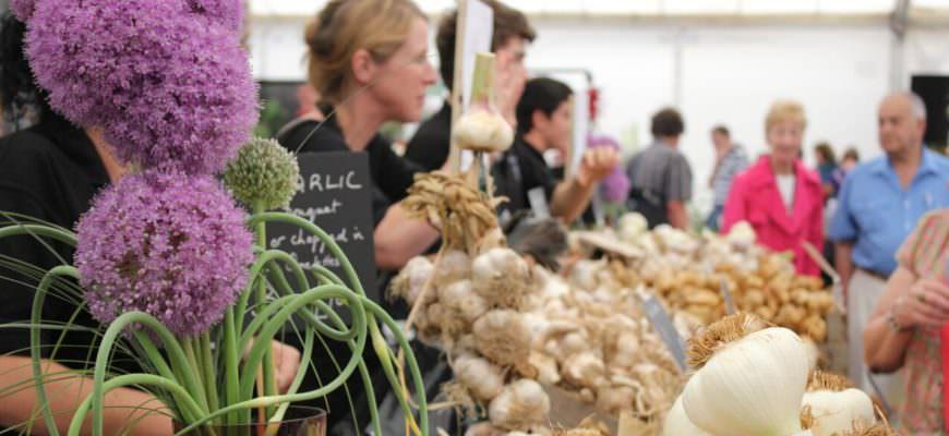 Food festivals Engeland - Garlic Festival