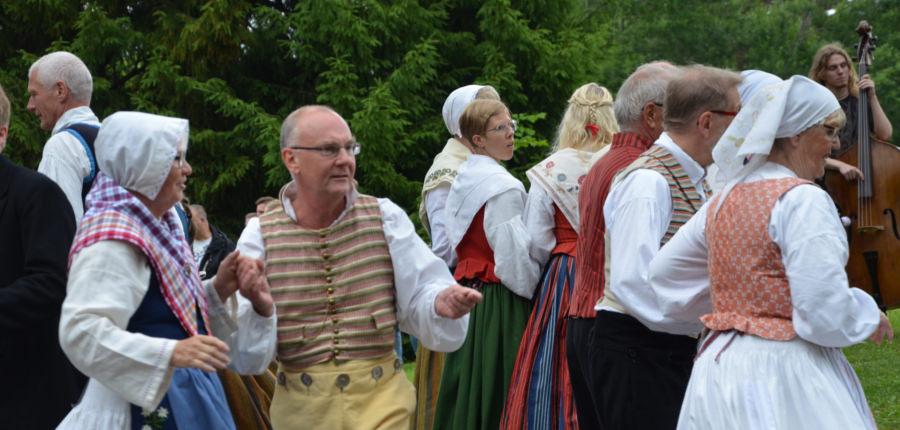Midzomer dans in Zweden