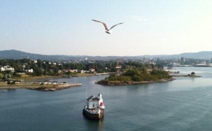 Aankomst Oslo met Stena Line