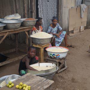 Jonge kinderen in Benin