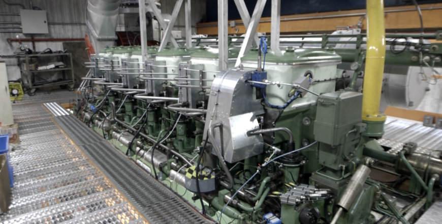 Methanol motor Stena Germanica wereldprimeur