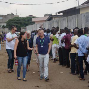 Niclas Martensson in Benin