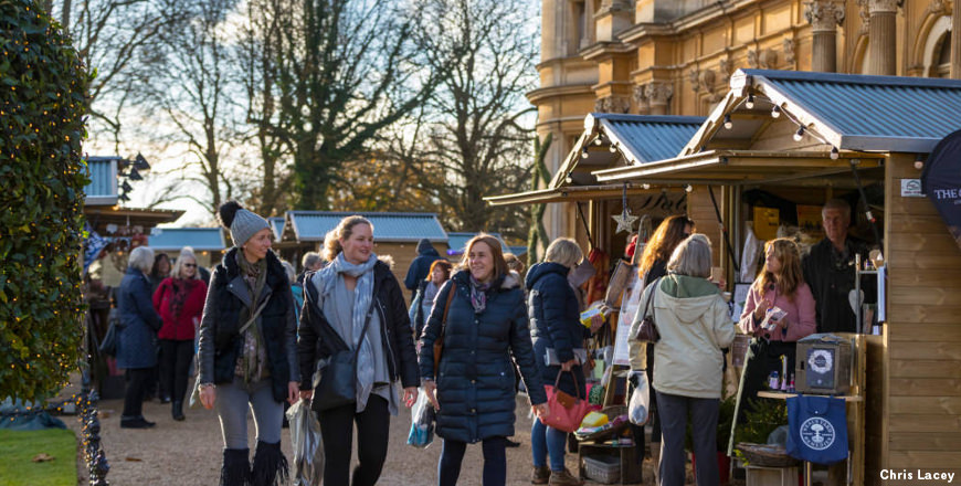 Waddesdon Christmas Fair - Chris Lacey