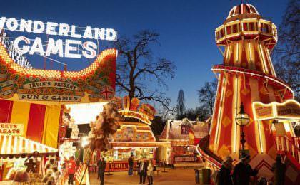 kerstmarkt in Engeland - Winter Wonderland