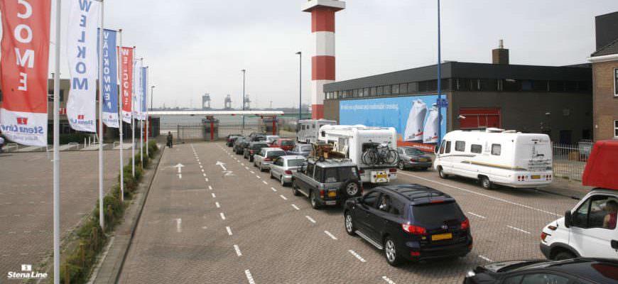 Inchecken Hoek van Holland Stena Line