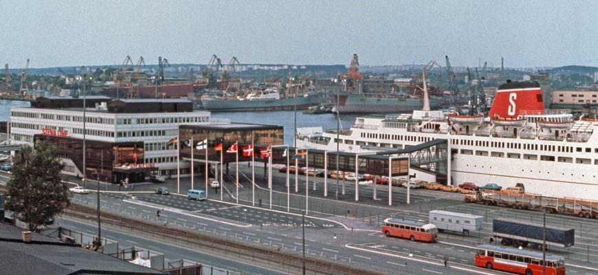 Stena Line in 1972 – van uitdager tot gevestigde rederij