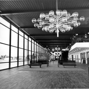 Stena Line's terminal in Göteborg in mei 1972