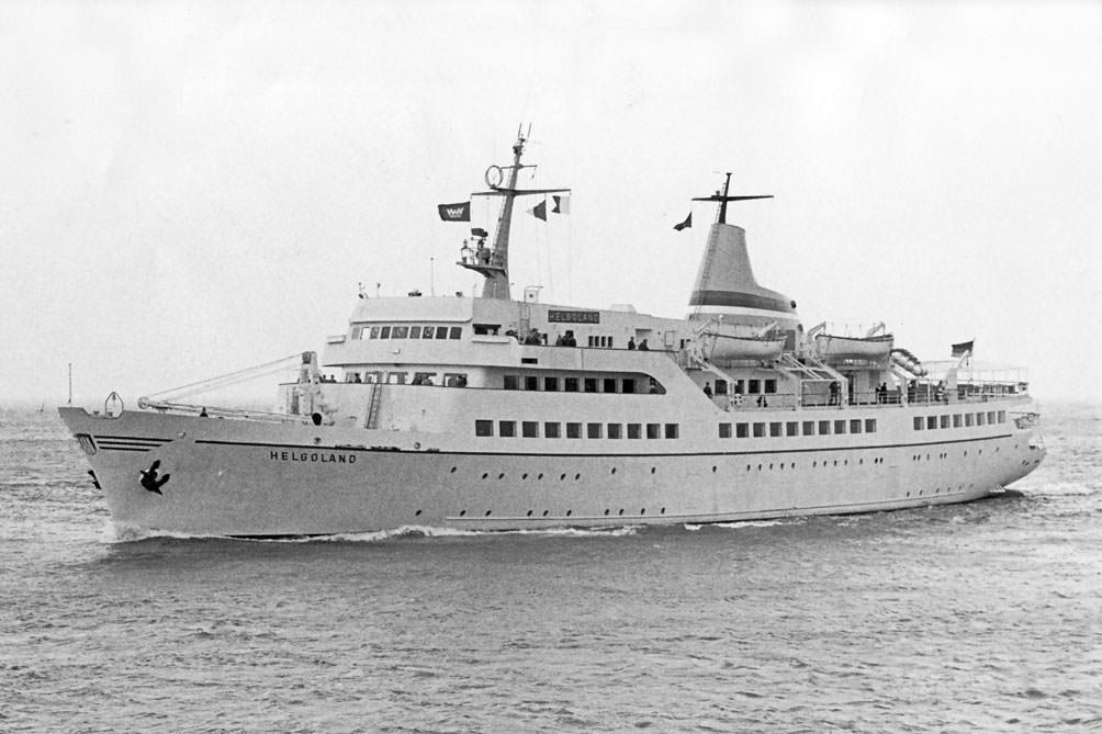 Helgoland in 1963