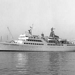 Stena Finlandica in Göteborg in mei 1972