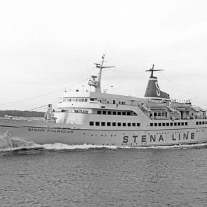 Stena Finlandica op 9 juli 1973