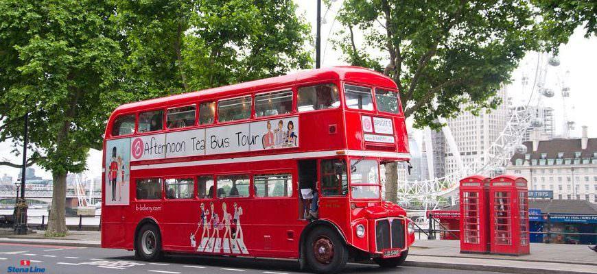 Brigit's Bakery afternoon tea bus tour Londen