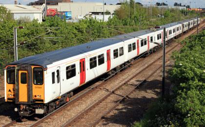 Greater Anglia trein Engeland
